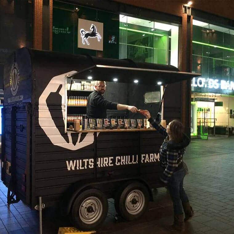 Wiltshire Chilli Farm - Event Trailer Bristol