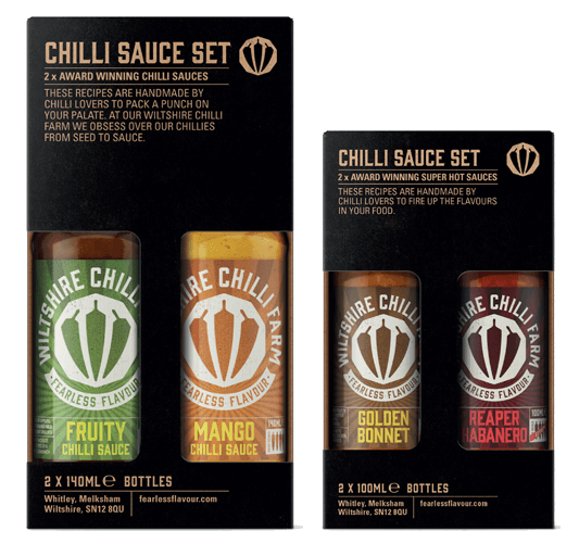 Wiltshire Chilli Farm Chilli Gift Sets