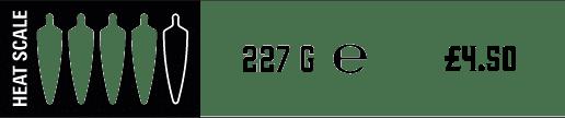 Heat Scale -4 Chilli - Jam - £4.00