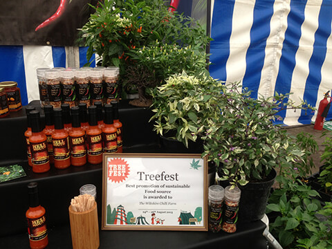 Wiltshire Chilli Farm - Treefest - Best use of a sustainable food source