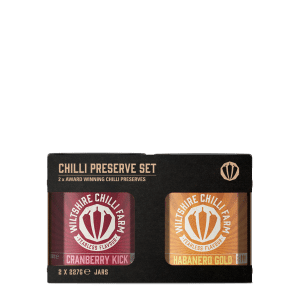 Chilli Jam Gift Set - Cranberry Kick & Habanero Gold