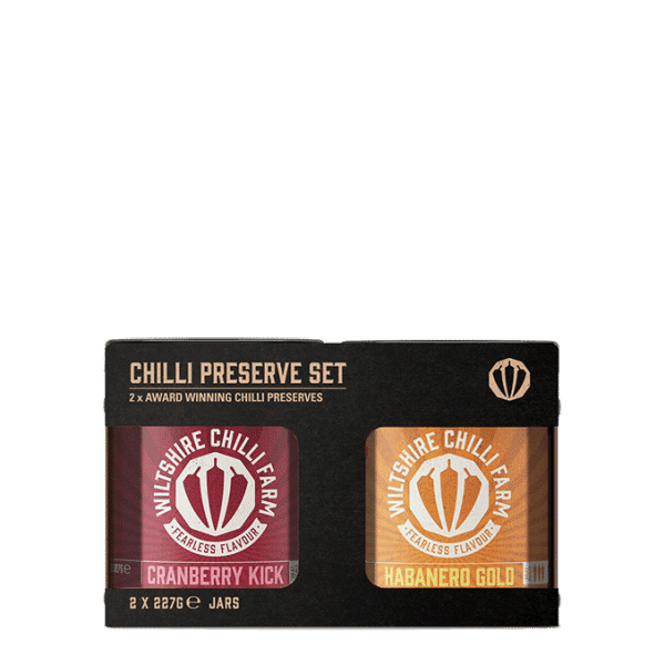 Chilli Jam Gift Set - Cranberry Kick & Habanero Gold