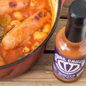 Wiltshire Chilli Farm - Winter Sausage and Bean Stew